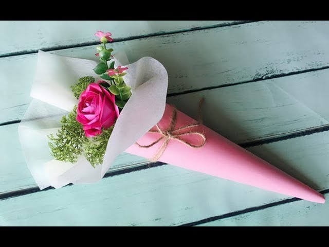 ABC TV | How To Make Rose Paper Flower Bouquet With Shape Punch - Carft Tutorial
