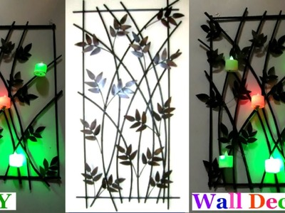 DIY How to make Wall Hanging from Newspaper | DIY -Wall decor.room Decor idea - best out of waste
