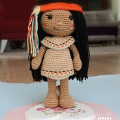 DOLL - Venona - Native American Girl