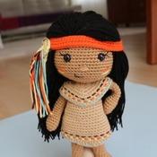 DOLL - Venona - Native American Girl