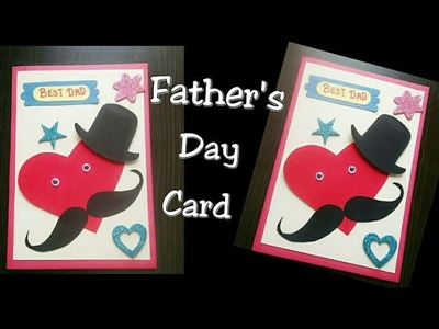 Father's day card idea | Easy card for father's day| how to make Card for dad