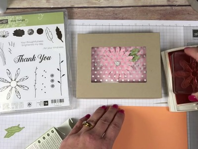 How to make a Boxed set of cards with a Window Lid