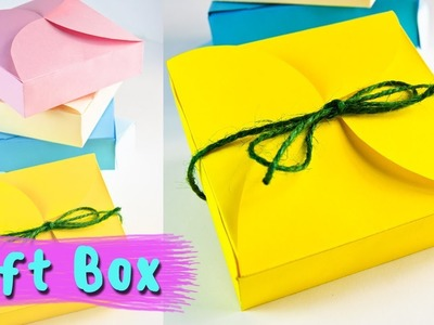 How To Make a Gift Box | Birthday Gift Ideas