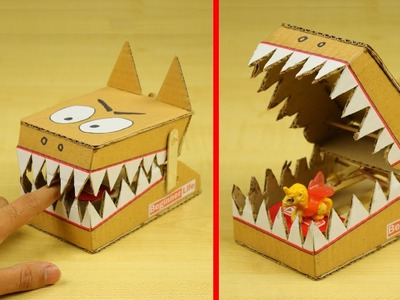 How to Make Mouse Trap at Home - DIY Simple Rat Trap from Cardboard