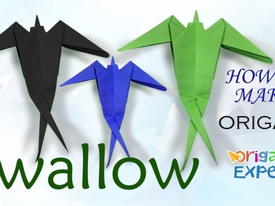 How to Make Origami Bird Easy
