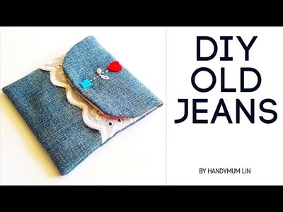 Mother's day special gift   Soufeel unboxing   How to sew a gift pouch diy tutorial   diy old jeans❤
