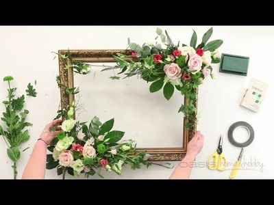 OASIS® Home & Hobby - How-to: Floral Photo Frame