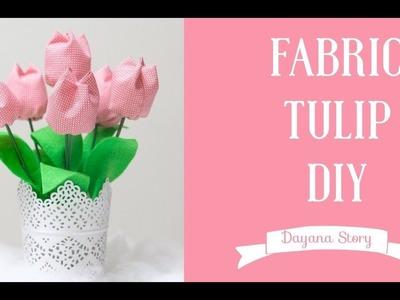 Tutorial: How to make fabric Tulips