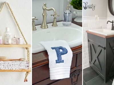 10 Easy DIY Projects For Any Bathroom