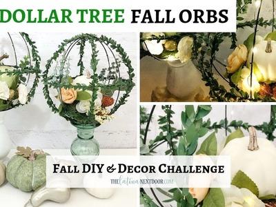 2018 DIY Fall & Decor Challenge   Dollar Tree Fall Decor 2018