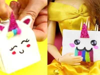 Amazing DIY Miniature School Supplies For Your Barbie