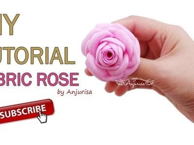 Bloomy Rose Tutorial | Fabric Flower DIY