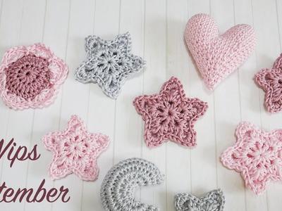 Blossom Crochet: Sept WIPS - Sweet Baby Mobile!