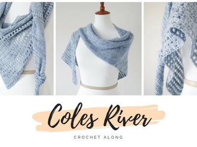 Coles River Kerchief - Crochet Along Announcement! [Registration Closed]