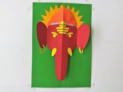 Diwali decoration ideas || 3D  Ganesha DIY