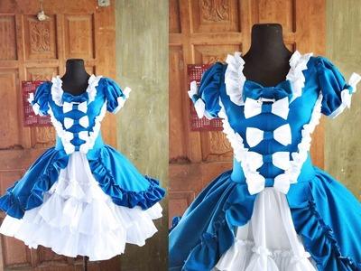 ♣ DIY Alice Theme Lolita Dress 18 ♣ Lolita Dress Tutorial