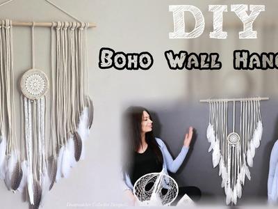DIY Boho Crochet Doily Wall Hanging Tutorial!!!