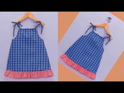 Diy Designer Baby Zabla For  2 year baby girl Cutting And Stitching Full Tutorial