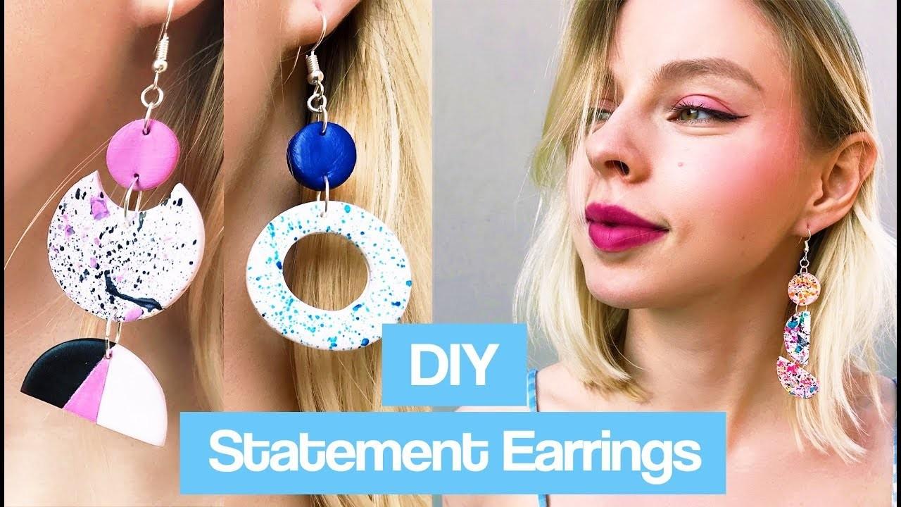 DIY Easy Earrings (Handmade)