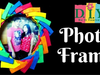 DIY Easy Paper Photo Frame at Home|Paper Art Tutorial|Gift Ideas|Kids Craft|Crazy Creative Chanchal
