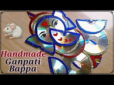 DIY Ganpati decoration ideas for home | How to make Ganpati at home | Best out of waste craft idea
