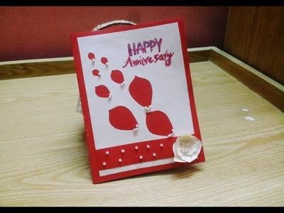 Craft Diy Happy Anniversary Card Creation Diy Happy