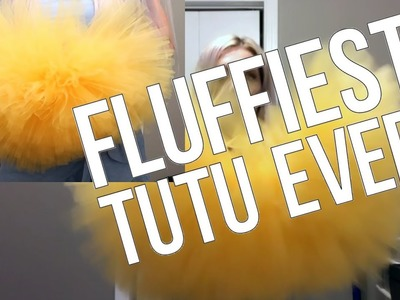 DIY How to Make A Tutu FLUFFY, EASY and FAST