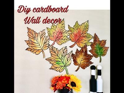 DIY large 3D leaf wall decor. Fashion pixies. Diy unique wall hanging craft ideas