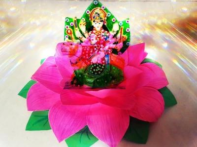 DIY navratri decoration ideas for home#navratri decoration ideas#durga ma mandap making ideas