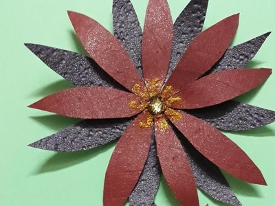 Diy|Paper flower |How to make paper flower|Flower making with paper|