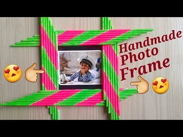 Diy Photo Frame Photo Frame Decoration Ideas Photo Frame Making At
