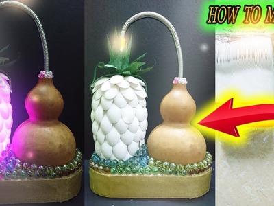 DIY Pineapple Lamp from plastic spoons – Easy to make DIY – Paper Magic Top