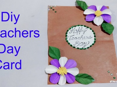 DIY Teachers day special card.Handmade card.how to make greeting card.Art Gallery