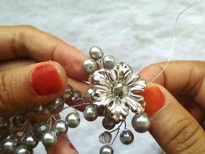 DIY | Tutorial membuat hairvine untuk pemula step by step ( part 2). how to make a hairvine tiara