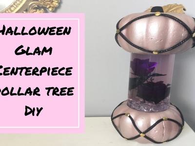 Dollar tree DIY.glam pumpkin lamp