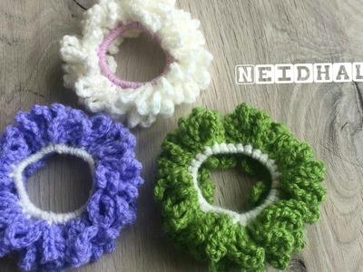 Easy Crochet Hand made Hairband | Headband  Woollen Hairband Tutorial in Tamil - DIY-Neidhal Crochet