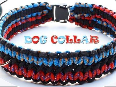 Epic Unique How to make Paracord Dog Collar DIY Paracord Tutorial Hunde Halsband