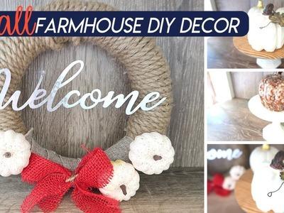 FARMHOUSE DECOR | DOLLAR TREE DIY | BUDGET FRIENDLY $10 DIY | COLLAB WITH MEASURE & MIX
