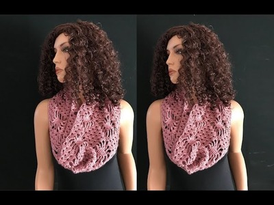How to Crochet a Cowl Pattern #773│by ThePatternFamily