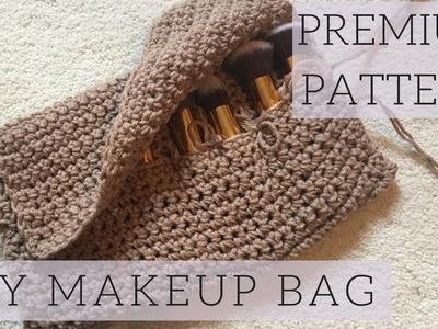 How to Crochet for Beginners: DIY Premium Customizable Makeup Bag