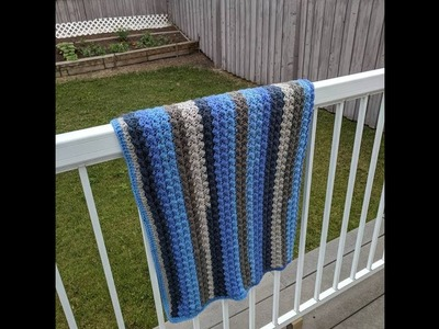 How to Crochet the Riddle Stitch Blanket with Caron Cake Yarn