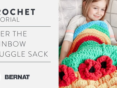 How to Crochet the Somewhere Over the Rainbow Snuggle Sack