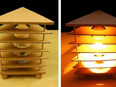How to Make a Night Lamp - DIY Night Lamp