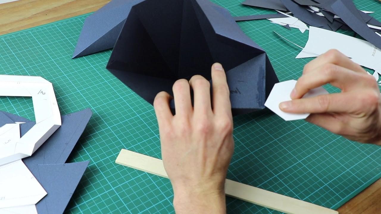 How to make a paper whale | Assembli Papercraft DIY