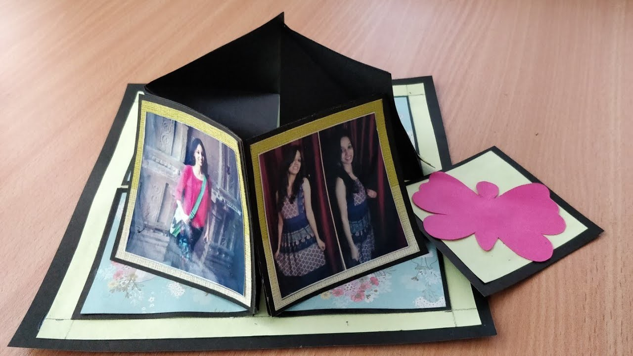 How To Make Birthday Pop Up Greeting Cardbirthday Card Ideascard Making Tutorial