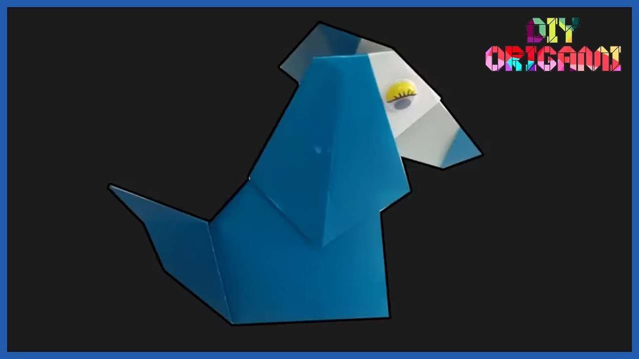 How To Make Origami Paper Easy Dog || DIY Paper Easy Dog