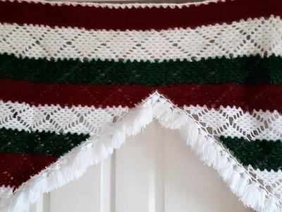 How To make woolen toran for  home decorations idea!!crochet Toran,door hanging !! Amrapali Toran