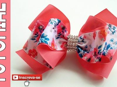 Laço Celia Elysa Ver 2 ???? Ribbon Bow Tutorial ???? DIY by Elysia Handmade