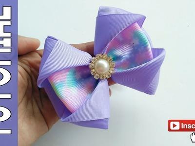 Laço Celia ???? Ribbon Bow Tutorial ???? DIY by Elysia Handmade