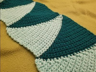 The Short Row Scarf Crochet Tutorial!